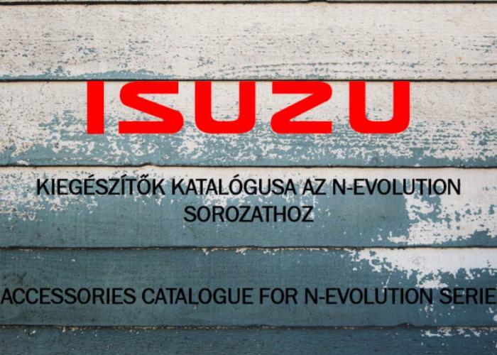 Kiegészítők katalógusa az N-evolution sorozathoz