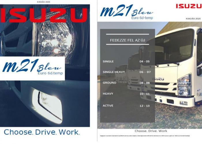 Katalógus Isuzu M21