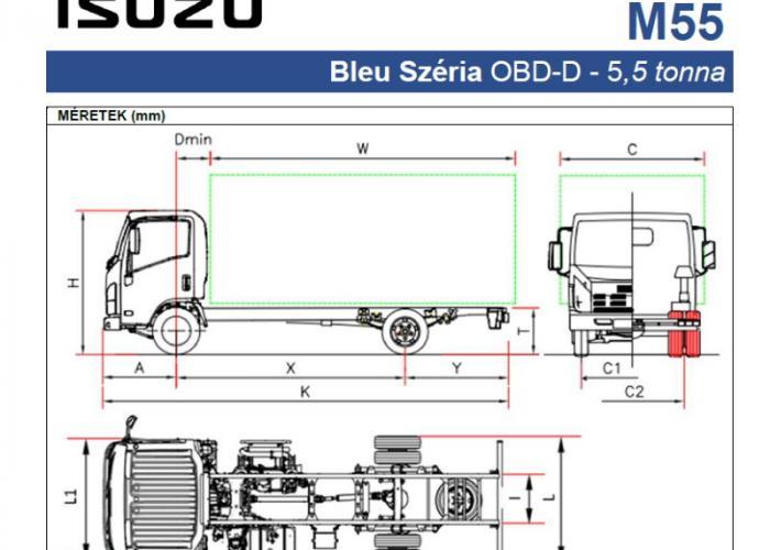 Katalógus Isuzu M55